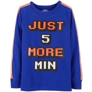 Just 5 More Min tee 10-12
